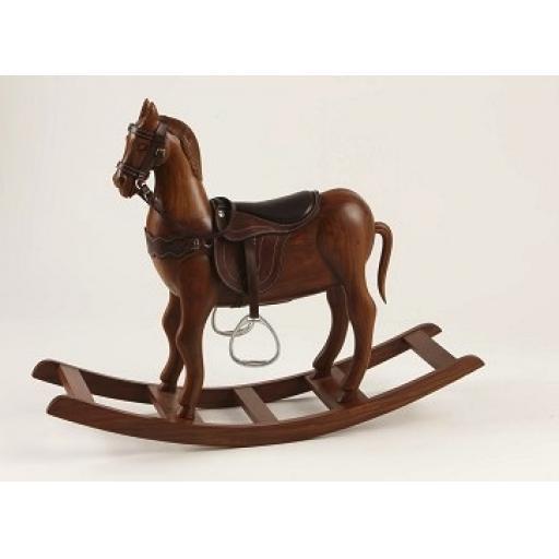 Rosewood Rocking Horse