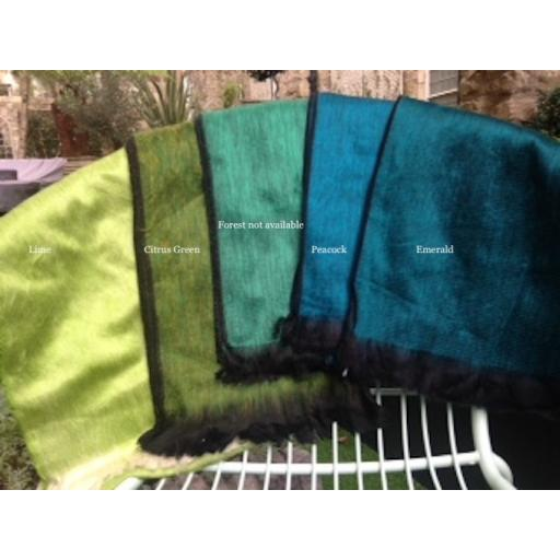 Wraps and Shawls Green with Envy Collection